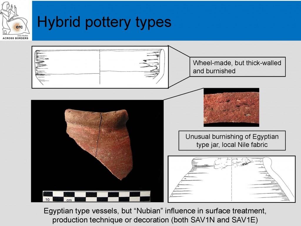Hybrid pottery types