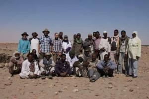 Fieldwork team 2014, Sai Island, Pharaonic town.