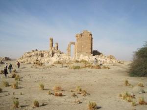 The temple of Soleb in 2014 (photo: N. Mosiniak).