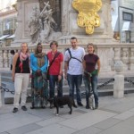 Me and my colleagues in Vienna.
