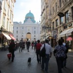 Scenes from the walk through the city of Vienna.