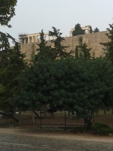 View of the Acropolis 1